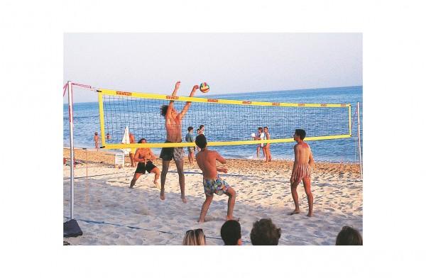 Beachvolleyballnetz von SunVolley - Freizeit-Beachvolleyballnetz