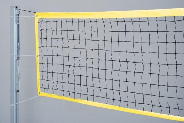 Beachvolleyball Turniernetz gelb