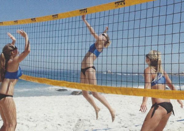 Huck Beachvolleyball Turniernetz