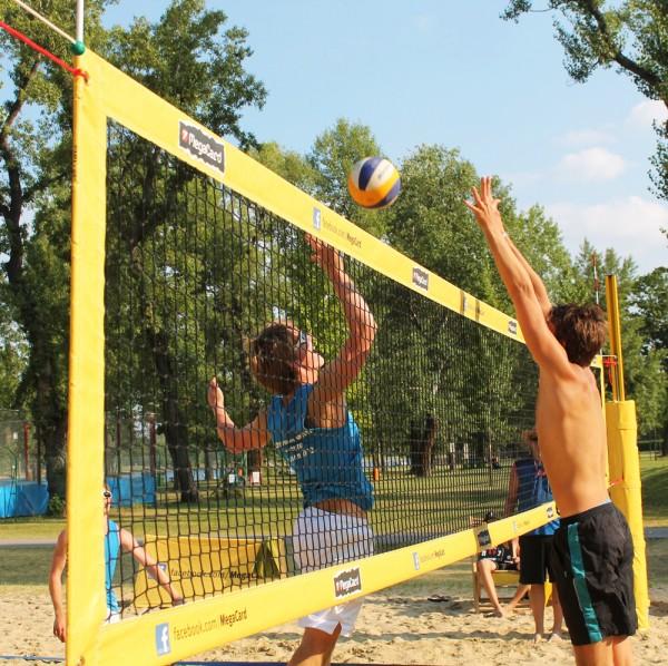 Funtec® Beachvolleyballnetz Pro Beach Worldtour